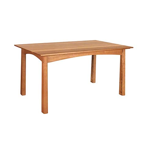 Gaspard Maple Solid Wood Pedestal Dining Tables Regarding Preferred Handcrafted Solid Wood Dining Tables – Vermont Woods Studios (View 5 of 25)