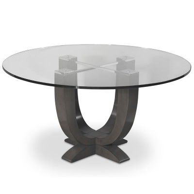 Gaspard Maple Solid Wood Pedestal Dining Tables Regarding Trendy A Solid Maple Candelabra Base Makes This Simple Dining (View 24 of 25)