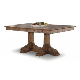 Geneve Maple Solid Wood Pedestal Dining Tables Within Most Current Sonora Rectangular Pedestal Dining Table (View 17 of 25)