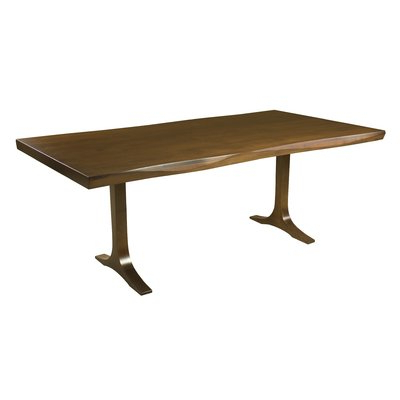 Featured Photo of Geneve Maple Solid Wood Pedestal Dining Tables