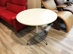 """Genuine Herman Miller Nelson Ns5852l 36"""" Round Mid Century Inside Widely Used Pevensey 36'' Dining Tables (View 23 of 25)"""