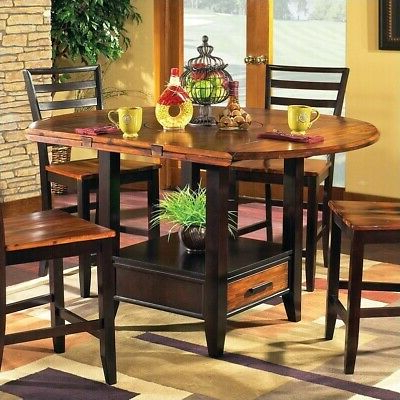 Getz 37'' Dining Tables For Well Known Steve Silver Abaco Drop Leaf Counter Height Dining Table (View 23 of 25)
