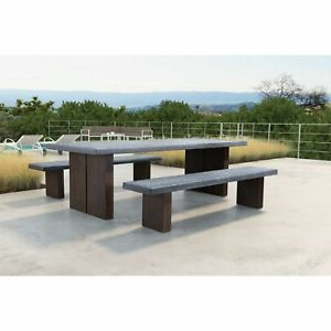 Gorla 39'' Dining Tables With Regard To Most Current Windsor Dining Table Cement & Natural – 94.5w X (View 16 of 25)
