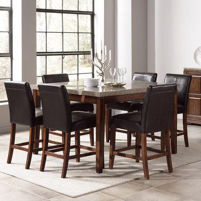 Granite Top High Table Dining Room – Wayfair (View 20 of 25)