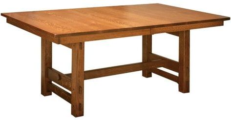 Gustav Butterfly Leaf Dining Table In (View 19 of 25)