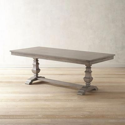 Haddington 42'' Trestle Dining Tables With 2019 Traditional Meets Subtle Rustic For Casual Or Formal (View 24 of 25)