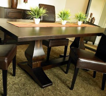 """Haddington 42'' Trestle Dining Tables Within 2020 Rectangular Trestle Table Available In 72"""" And 84"""" Long (View 20 of 25)"""