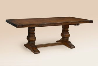 Haddington 42'' Trestle Dining Tables Within Newest Cherry Wood European Trestle Table For Booths (6 Ft (View 8 of 25)