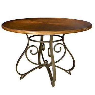 Hamilton Dining Table (medium Cherry / Matte Pewter Regarding Well Known Dixon 29'' Dining Tables (View 5 of 25)