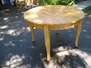 Hard Rock Solid Maple Dining Table – (grants Pass) For In Most Recent Drake Maple Solid Wood Dining Tables (View 13 of 25)