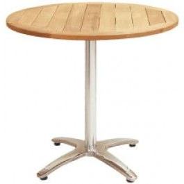 "Hemmer 32'' Pedestal Dining Tables In Fashionable 32"" Diameter Standard Indoor/outdoor Teak Tableflorida (View 4 of 25)"