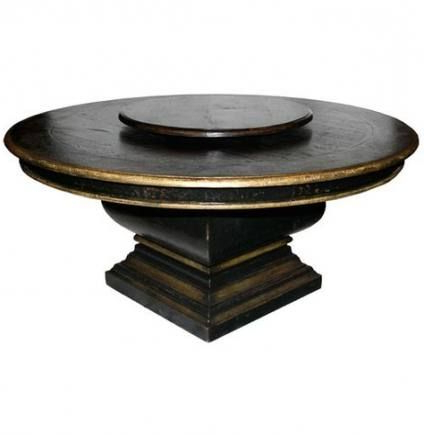 Hemmer 32'' Pedestal Dining Tables Throughout Popular New Kitchen Table Round Lazy Susan 60 Ideas (View 15 of 25)