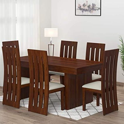 Hetton 38'' Dining Tables Pertaining To Most Up To Date Solid Sheesham Wood Cartly Dining Set Manufacturer In (View 23 of 25)