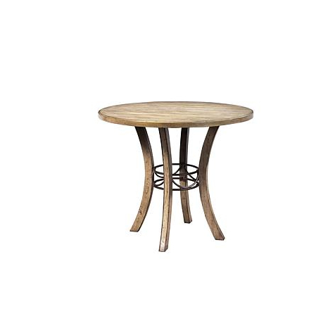 Hillsdale Furniture Charleston Round Counter Height Dining In Popular Dallin Bar Height Dining Tables (View 11 of 25)