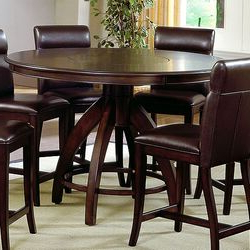 Hillsdale Nottingham Counter Height Dining Table & Reviews Intended For Well Known Dawid Counter Height Pedestal Dining Tables (View 23 of 25)