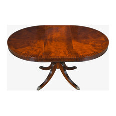 Houzz Pertaining To Tabor 48'' Pedestal Dining Tables (View 10 of 25)