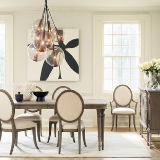 """Houzz With Regard To Most Popular Murphey Rectangle 112"""" L X 40"""" W Tables (View 18 of 25)"""