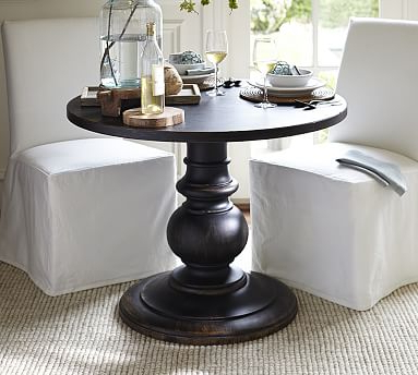 Jazmin Pedestal Dining Tables Pertaining To Famous Dawson Large Pedestal Table (View 17 of 25)