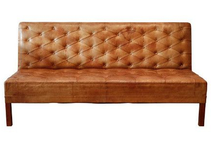 Kaare Klint Danish Tufted Leather Banquette Sofa, 1930 Throughout 2019 Tudor City 28'' Dining Tables (View 25 of 25)