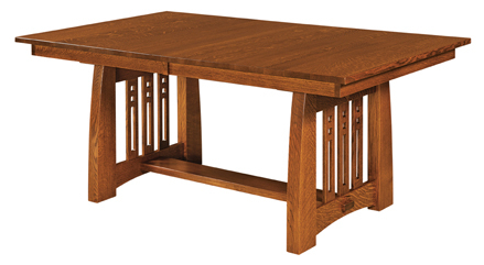 Kara Trestle Dining Tables Throughout Famous Jamestown Trestle Dining Table (View 10 of 25)