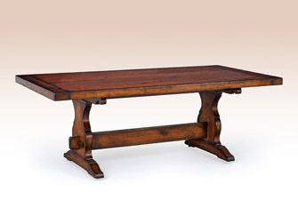 Kara Trestle Dining Tables Within Popular French Country Trestle Table (View 3 of 25)