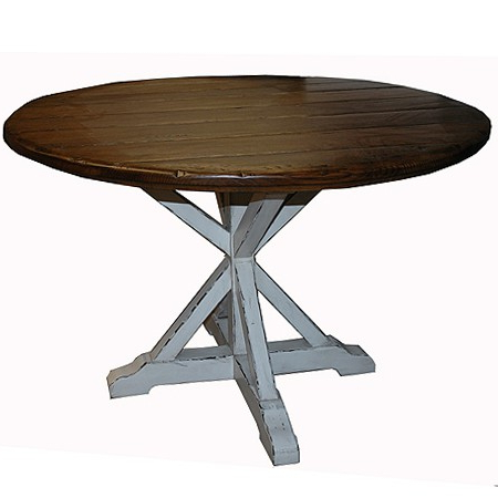 Kara Trestle Dining Tables Within Well Known Round Trestle Table – J (View 20 of 25)