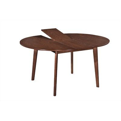 Katarina Extendable Rubberwood Solid Wood Dining Tables Throughout Famous Dyer Avenue Mid Century Modern Extendable Solid Wood (View 6 of 25)