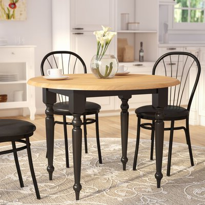 Featured Photo of Katarina Extendable Rubberwood Solid Wood Dining Tables