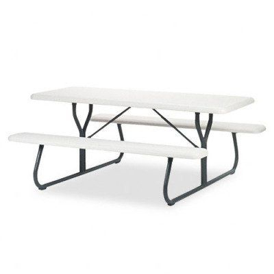 Keown 43'' Solid Wood Dining Tables Inside Current Indestruc Tables Too Folding Picnic Bench Table – Rect (View 21 of 25)