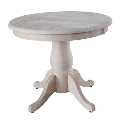 Kohut 47'' Pedestal Dining Tables Pertaining To Recent International Concepts Unfinished Coffee Table K Ot22rt (View 7 of 25)