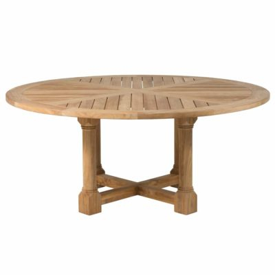 """Lakeshore 72"""" Round Dining Table – Summer Classics Contract Pertaining To Most Recent Classic Dining Tables (View 8 of 25)"""