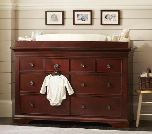 Larkin Extra Wide Dresser & Changing Table – Pottery Barn Kids Inside Preferred Larkin (View 19 of 25)