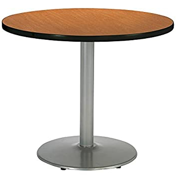"Latest Amazon: Kfi Round Bar Height Pedestal Table – 42"" Dia In Liesel Bar Height Pedestal Dining Tables (View 23 of 25)"