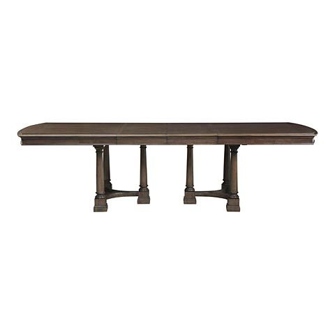 Latest Double Pedestal Dining Table (View 21 of 25)