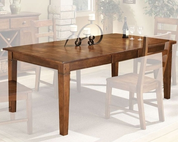 Latest Intercon Solid Rubberwood Dining Table Scottsdale Insc4278tab Within Wes Counter Height Rubberwood Solid Wood Dining Tables (View 2 of 25)