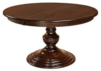 Latest Kingsley Single Pedestal Dining Table Throughout Pedestal Dining Tables (View 4 of 25)