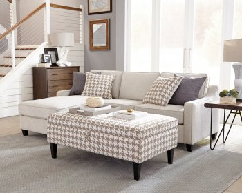 Latest Reviews: 501840 Mcloughlin – Coaster – Cream Sectional In Mcloughlin Dining Tables (View 13 of 25)