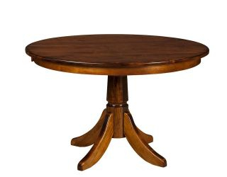 Latest Round Pedestal Dining Table Extending Solid Wood Oak 48,54,60 Within Monogram 48'' Solid Oak Pedestal Dining Tables (View 2 of 25)