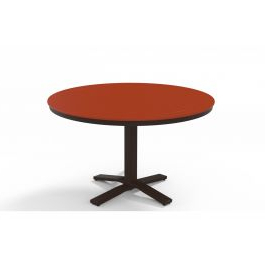 """Latest Tabor 48'' Pedestal Dining Tables In Telescope Casual Mgp Top 48"""" Round Dining Height Pedestal (View 8 of 25)"""