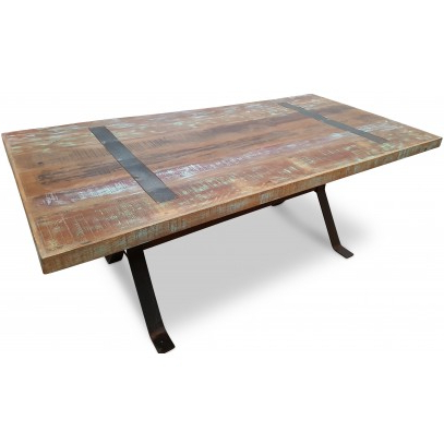 Magellan 2m Industrial Dining Table (View 10 of 25)