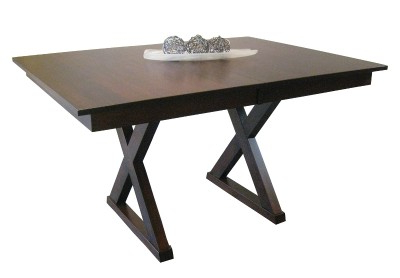 Maple Tangent Trestle Table, Multiple Sizes – Vancouver Pertaining To Best And Newest Gaspard Maple Solid Wood Pedestal Dining Tables (View 20 of 25)
