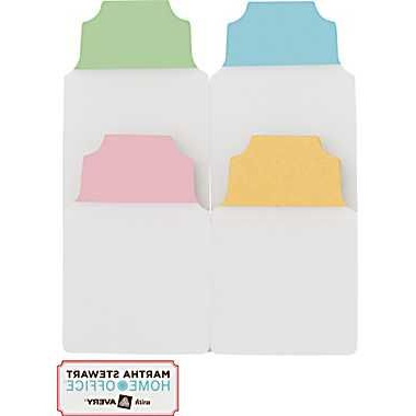 Martha Stewart Home Office™ With Avery™ Notetabs™ Assorted Regarding Latest Mode Breakroom Tables (View 23 of 25)