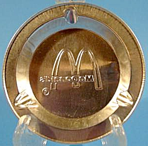 Mcdonald's Fast Food Aluminum Ashtray – 1970's (ashtrays Within Famous 3 Games Convertible 80 Inches Multi Game Tables (View 18 of 25)