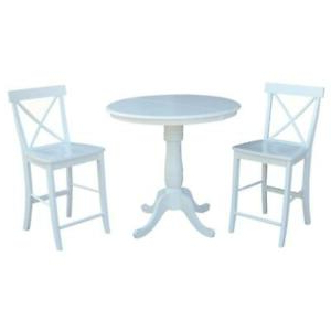"""Menifee 36'' Dining Tables Throughout Most Up To Date 36"""" Round Extension Dining Table 36""""h With 2 X Back (View 9 of 25)"""