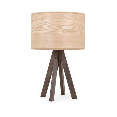 Meridian Wood Table Lamp (View 11 of 20)