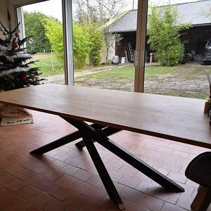 Metal Dining Table Legs. Heavy Duty Steel Table Legs (set With Most Recently Released Joyl (View 6 of 25)