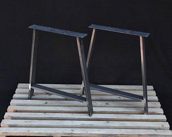Metall Tischbeine U Form Beine Couchtisch Beine Eisen With Well Liked Dellaney 35'' Iron Dining Tables (View 20 of 25)