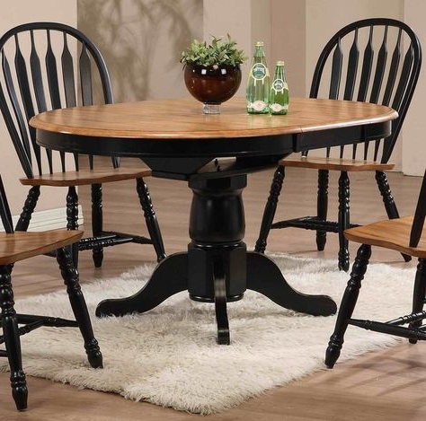 Mobilya Pertaining To Recent Katarina Extendable Rubberwood Solid Wood Dining Tables (View 4 of 25)