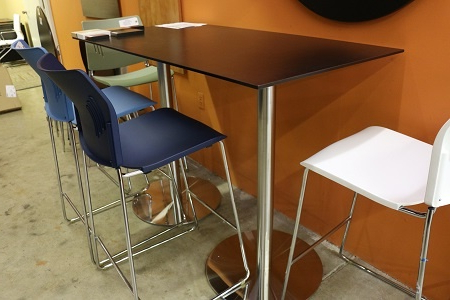 Mode Round Breakroom Tables For Favorite Bleecker Street Series Bar Tables (View 15 of 25)