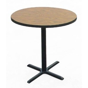 Mode Round Breakroom Tables With Regard To 2020 Amazon: Bar Stool/standing Height Cafe And Breakroom (View 7 of 25)